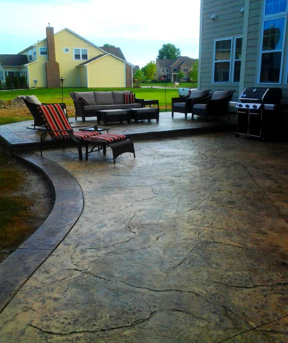 Stamped Concrete Patios In Columbus Ohio